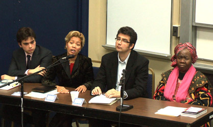 Challenges of Cultural Diversity and Globalization - Panel, Nov. 28, 2011