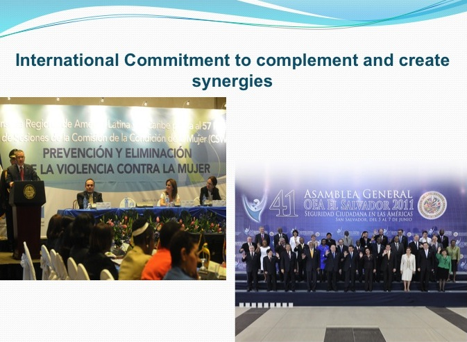 International Commitment and Create Synergies