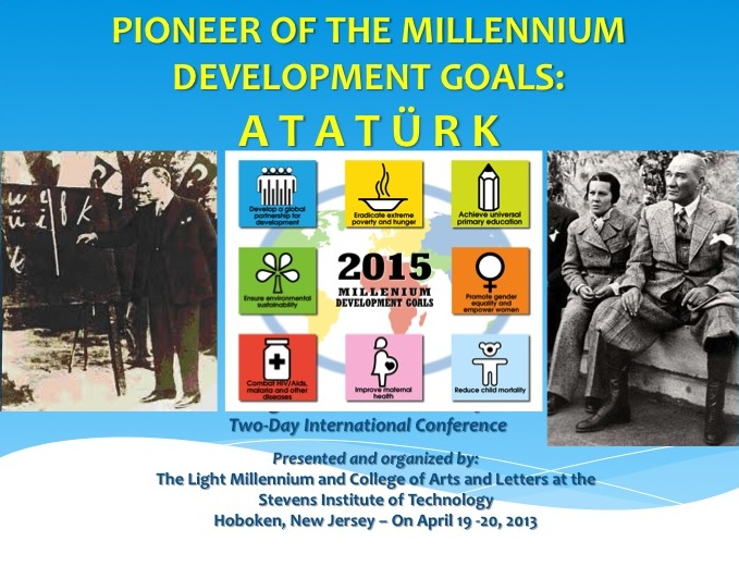 PHOTO ALBUM OF PIONEER OF THE MILLENNIUM DEVELOPMENT GOALS: ATATURK CONFERENCE - APRIL 19