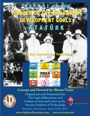 REPORT Cover: Pioneer of the Millennium Development Goals: Atatürk - Internatioanal Conference