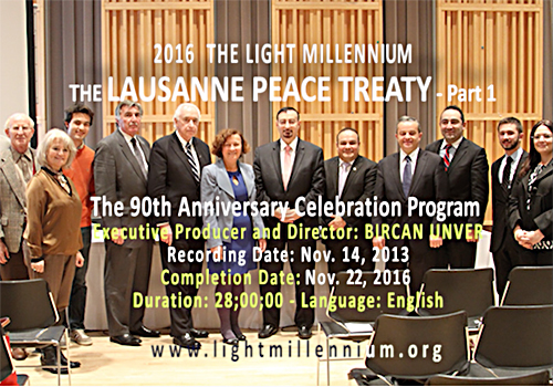 The Impact of the Lausanne Peace Treaty in the World - Part 1, LMTV