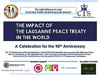 [Slides] THE IMPACT OF THE LAUSANNE PEACE TREATY IN THE WORLD - A Celebration for the 90th Anniversary