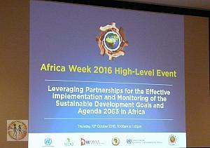 AFRICA WEEK 2016 HIGH-LEVEL EVENT: AFRICA IS THE HOPE OF THE FUTURE