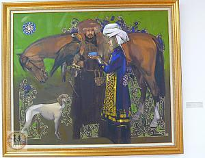 horse-man-and-woman-kasteev-state-museum-of-arts-almaty
