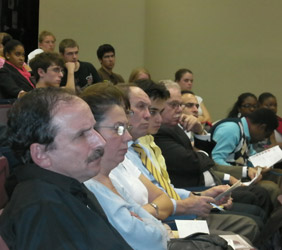 Attendees from the Nov. 14, 2011 program