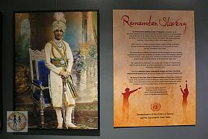 AFRICANS IN INDIA - From Slaves to Generals and Rulers - UN Main Lobby - Exhibit