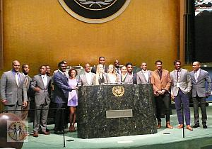 SPORT & DEVELOPMENT IS CELEBRATED AT THE UN GENERAL ASSEMBLY HALL - APRIL 6, 2016